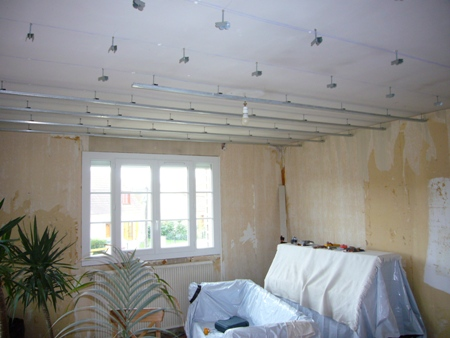faux plafond bride fourrure piton rehabilitation