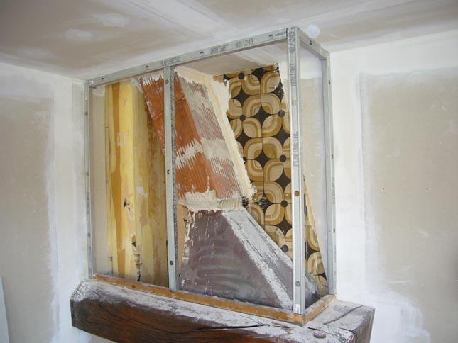 hotte cheminée fermacell rail m48