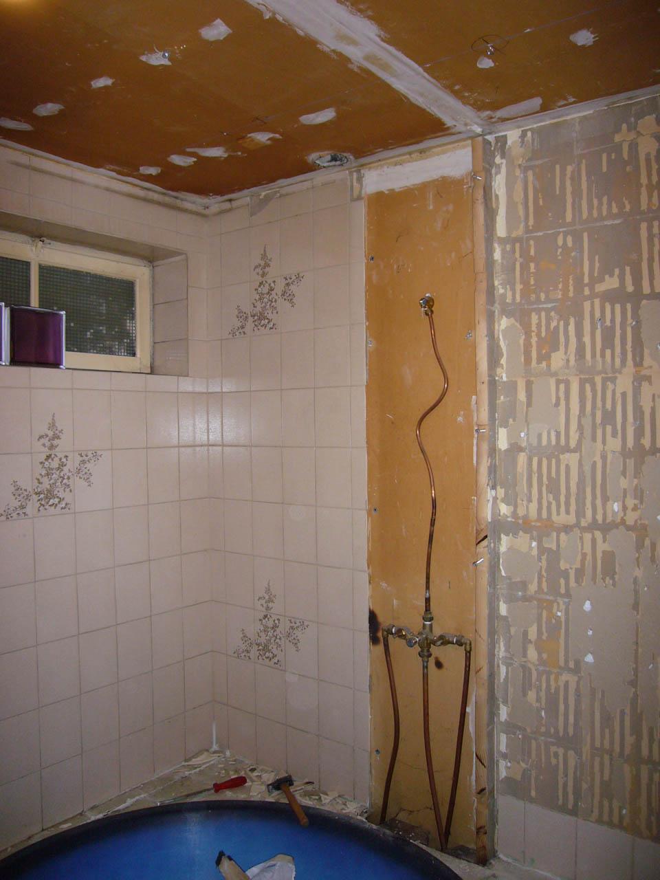 Mon projet de salle de bain complet 305 messages - Comment cacher des tuyaux apparents ...