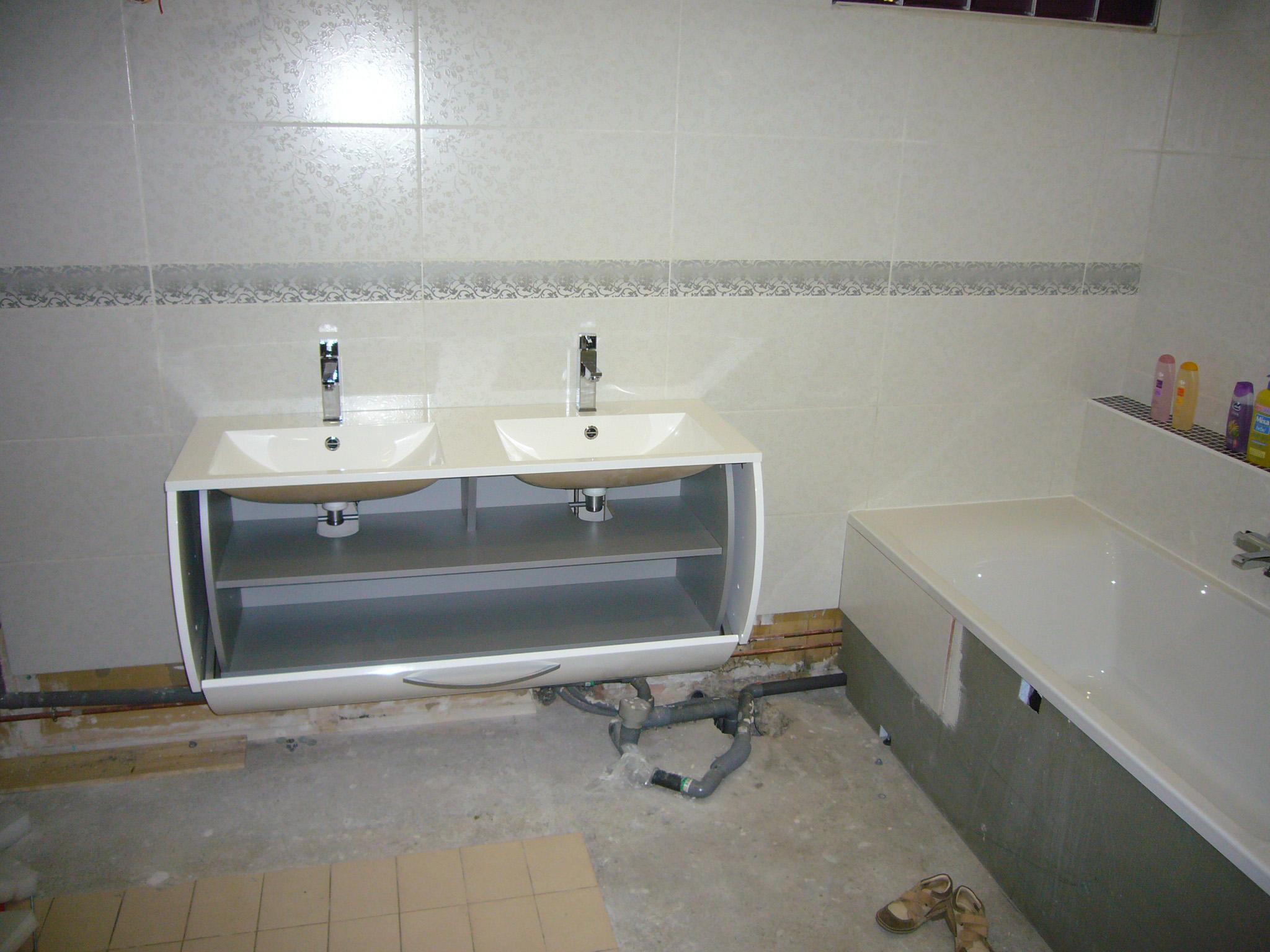 Mon projet de salle de bain complet 305 messages page 10 - Evacuation eau salle de bain ...