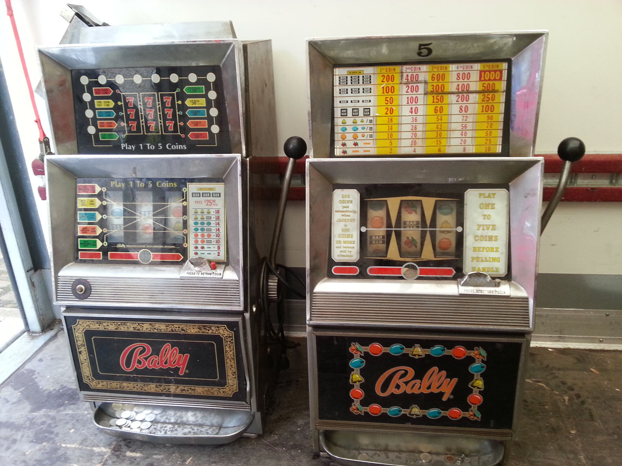 Bally slot machine models