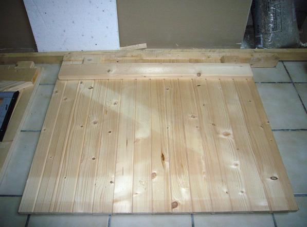 fabriquer ses volets battant en bois