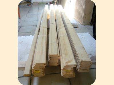 lame fabriquer ses volets battant en bois