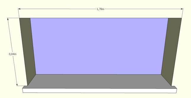 mesure tableau fenetre volets