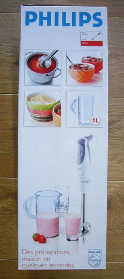 mixer plongeant philips hr1365